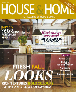 House & Home - October 2014