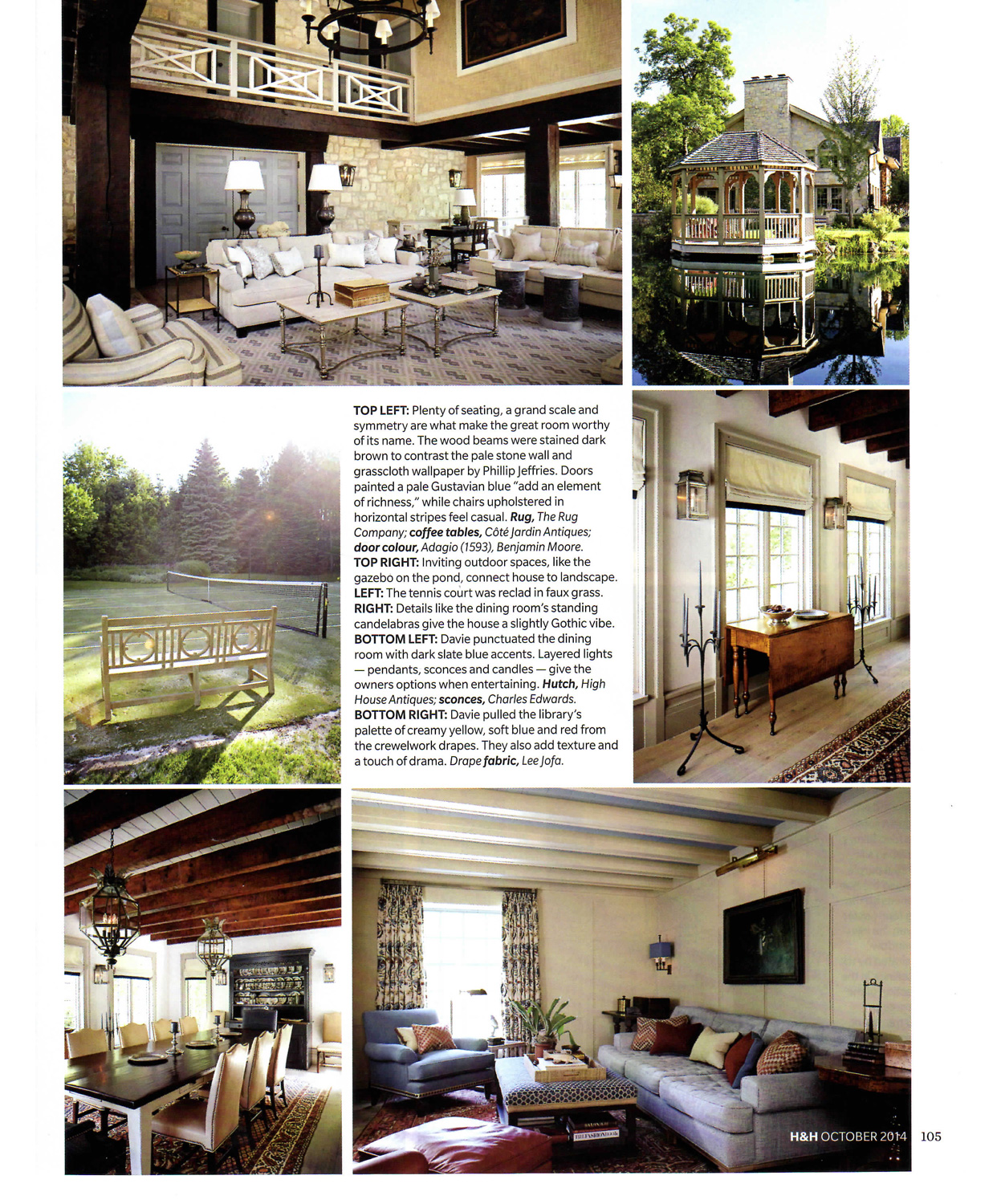 James M. Davie Design Inc. | House & Home – October 2014